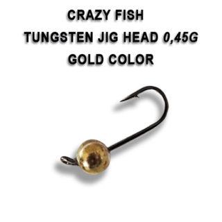 Tungsten jig udice Crazy Fish 0.45g
