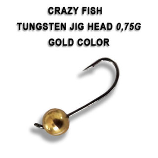 Tungsten jig udice Crazy Fish 0.75g