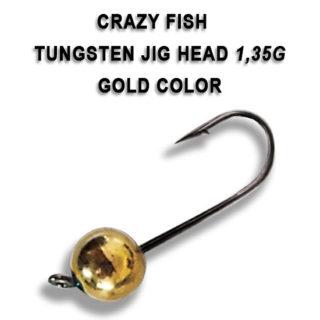 Tungsten jig udice Crazy Fish 1.35g
