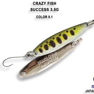 Kasika za ribolov Crazy Fish Success 3.5g
