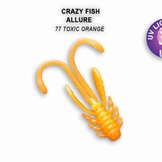 Silikonske varalice Crazy Fish ALLURE 2.7cm