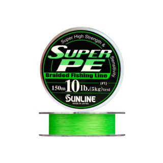 Struna Sunline SUPER PE 40LB Green 150m